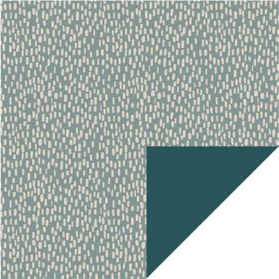 House of products House of products kaftpapier Sparkles - Blue - Petrol