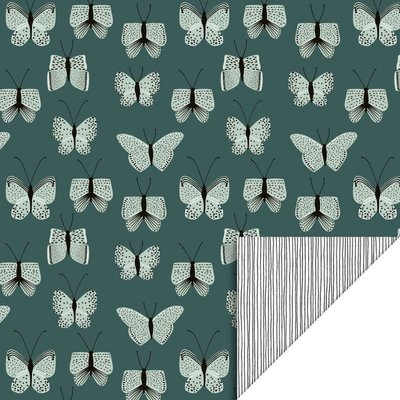 House of products House of products kaftpapier Butterfly - Blue
