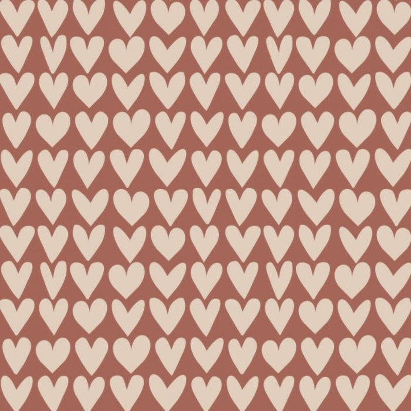 House of products House of products kaftpapier Love - Red / Beige