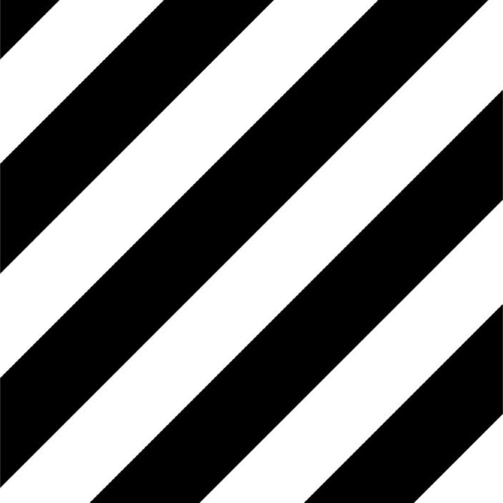 Studio stationery Studio Stationery kaftpapier Bold Lines zwart/wit