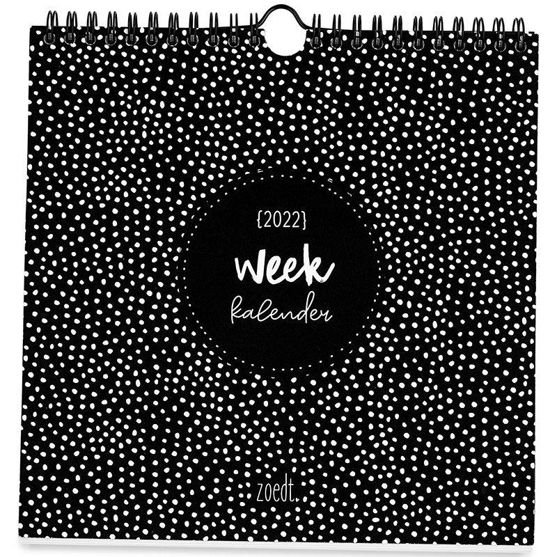 Zoedt Zoedt weekkalender 2022