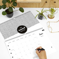 Zoedt Zoedt trendy maandkalender 2022 A3