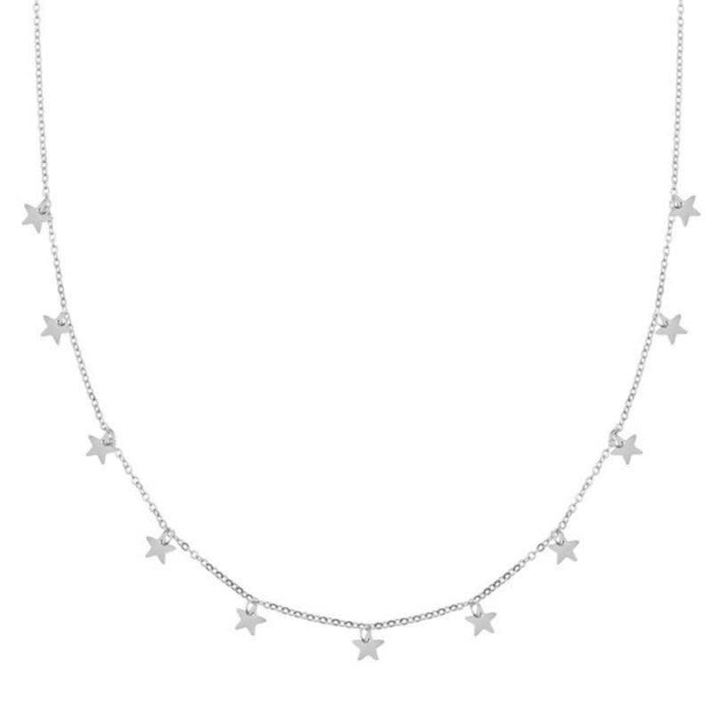 Essentialistics Essentialistics ketting sterren - zilver