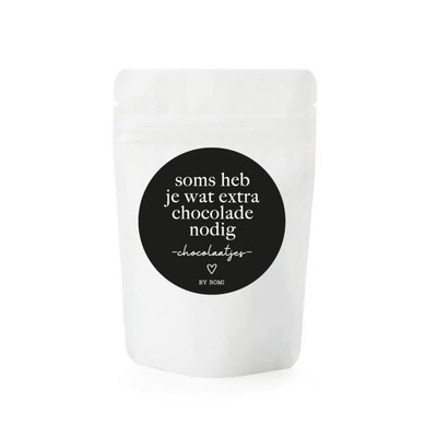 By romi By Romi Chocolaatjes / Soms heb je wat extra chocolade nodig