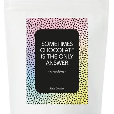 By romi By Romi Happy Colors / Chocolates / Sometimes chocolate is the only answer