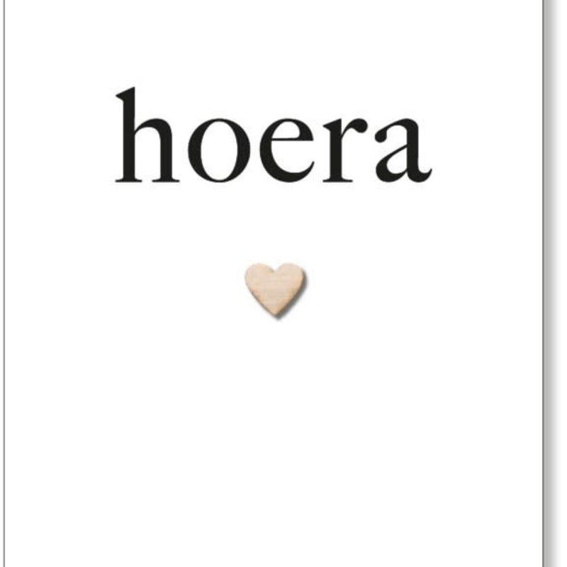 By romi By Romi Wenskaart / Hoera / Hartje