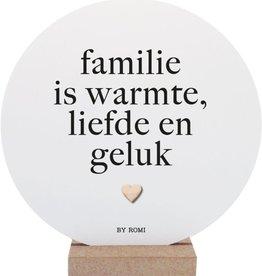 By romi By Romi Wooncirkel / Familie is warmte, liefde en geluk
