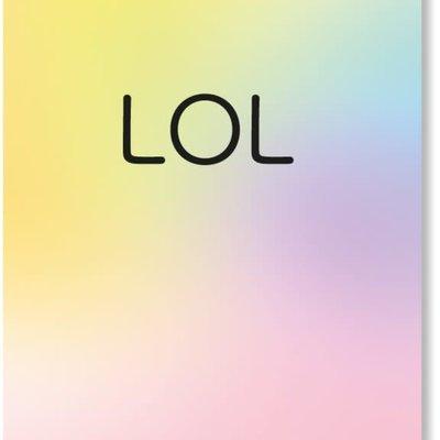 By romi By Romi Happy Colors / Postkaart / LOL