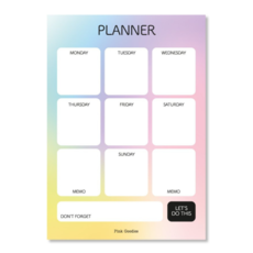 By romi By Romi Happy Colors / Planner / A5