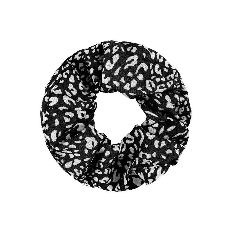 Yehwang Scrunchie zwart/wit