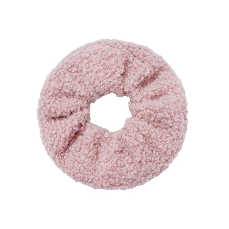 Yehwang Scrunchie soft teddy babyroze