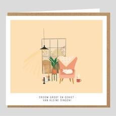 Studio Mie Studio Mie: kaart Droom groot en geniet van de kleine dingen