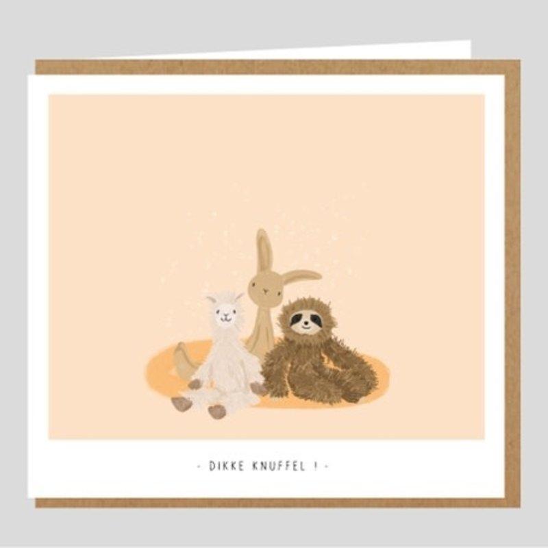 Studio Mie Studio Mie: kaart dikke knuffel
