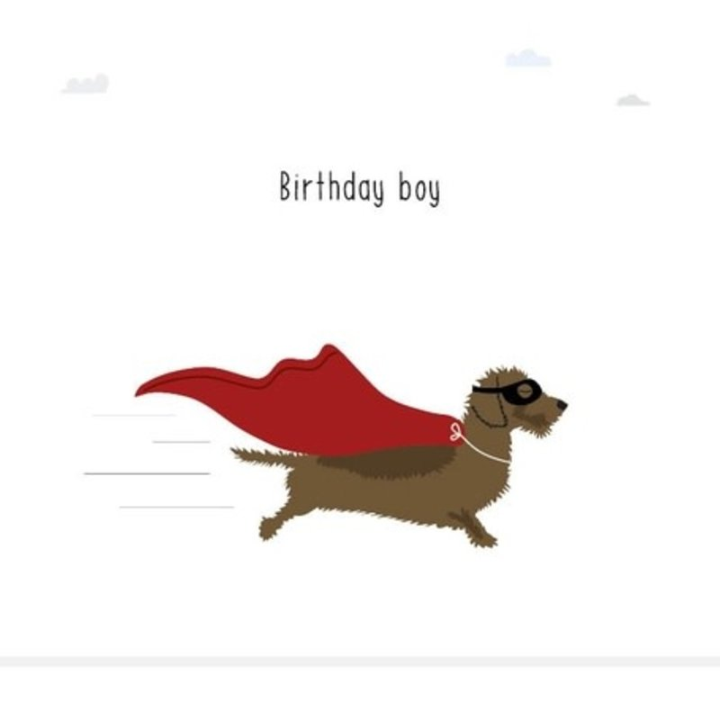 Mevrouw Emmer Mevrouw Emmer: kaartje Frits Birthday boy