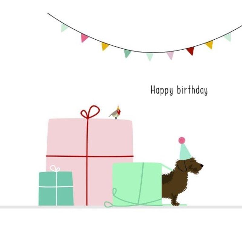 Mevrouw Emmer Mevrouw Emmer: kaartje Frits Happy Birthday