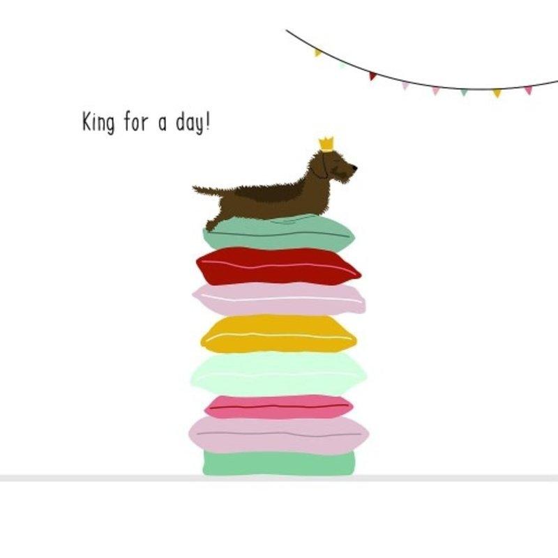 Mevrouw Emmer Mevrouw Emmer: kaartje Frits King for a day