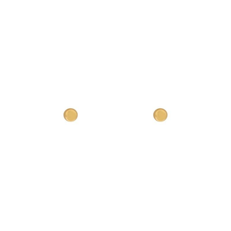 Essentialistics Essentialistics oorbellen dot goud