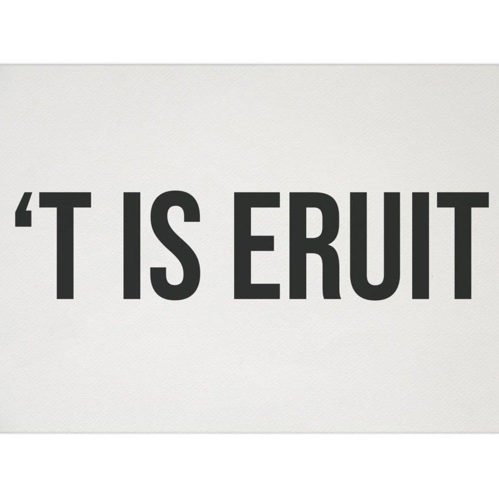Karen François Karen François: Geboortekaartje: 'T IS ERUIT