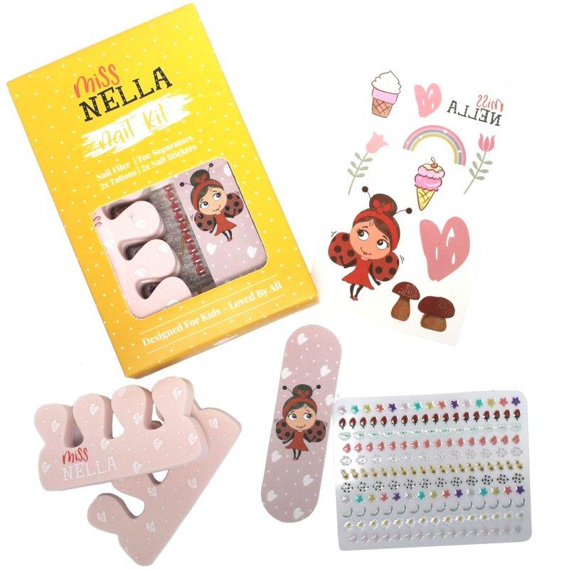 Miss Nella Miss Nella: Nail and accessories set