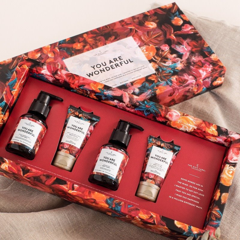 The gift label The gift label luxe hand & body care gift set - You are wonderful