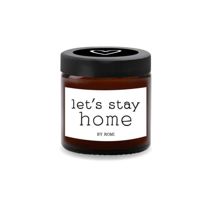 By romi By romi Wenskaars / Let's stay home / Bruin
