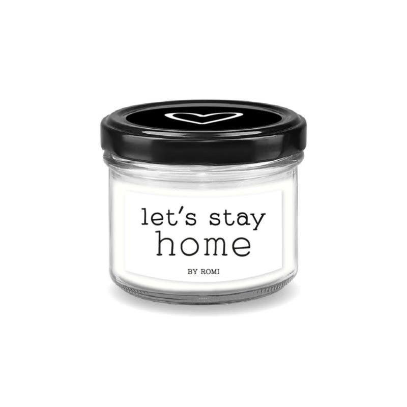 By romi By romi Wenskaarsje / Let's stay home