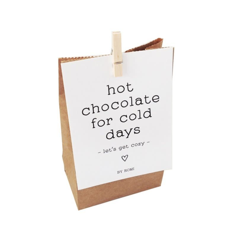 By romi By romi: Hot chocolate for cold days / Zakje