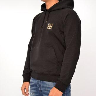 Moschino Moschino hoodie in hwt zwart