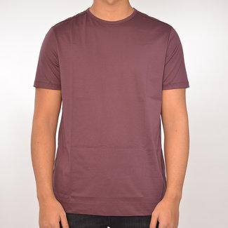 Limitato Limitato basic T-shirt bordeaux