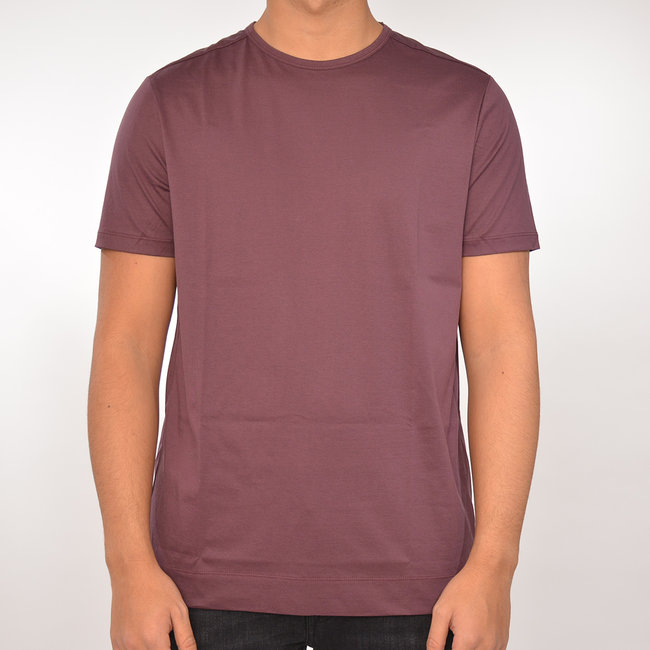 Limitato Limitato basic T-shirt bordeaux
