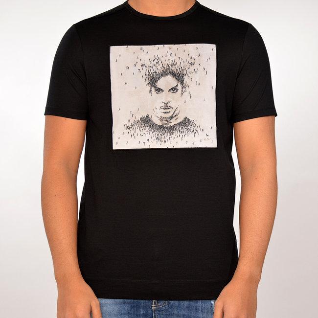 Limitato Limitato T-shirt zwart met print