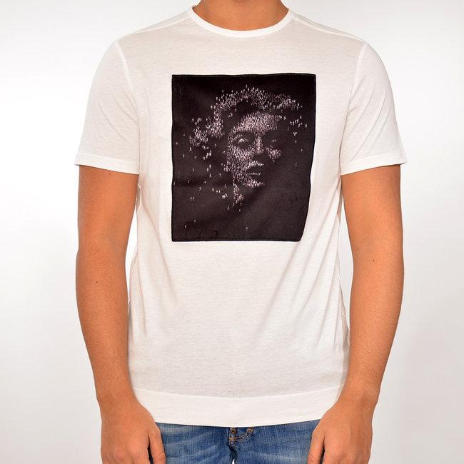 Limitato Limitato T-shirt wit met print