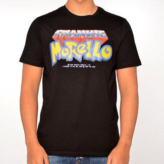 Frankie Morello Frankie Morello T-shirt zwart print op borst