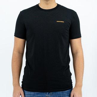 Dsquared2 Dsquared2 t-shirt zwart