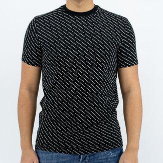 Dsquared2 Dsquared2 t-shirt zwart met print