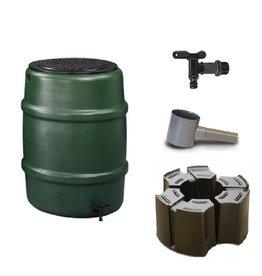 Harcostar regenton 114 liter groen (Voordeelset)