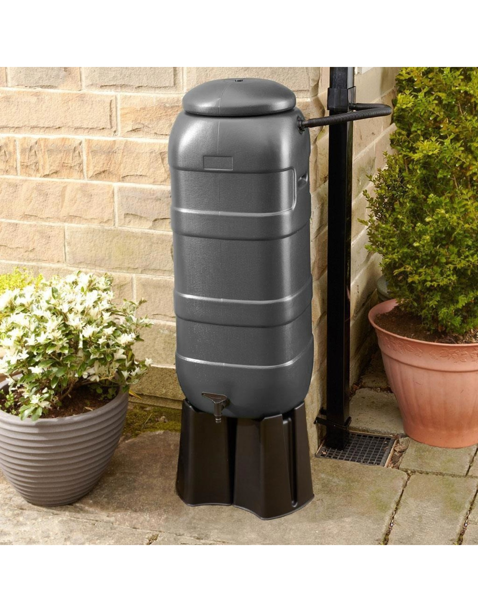 BeGreen Mini Rainsaver 100 liter grijs