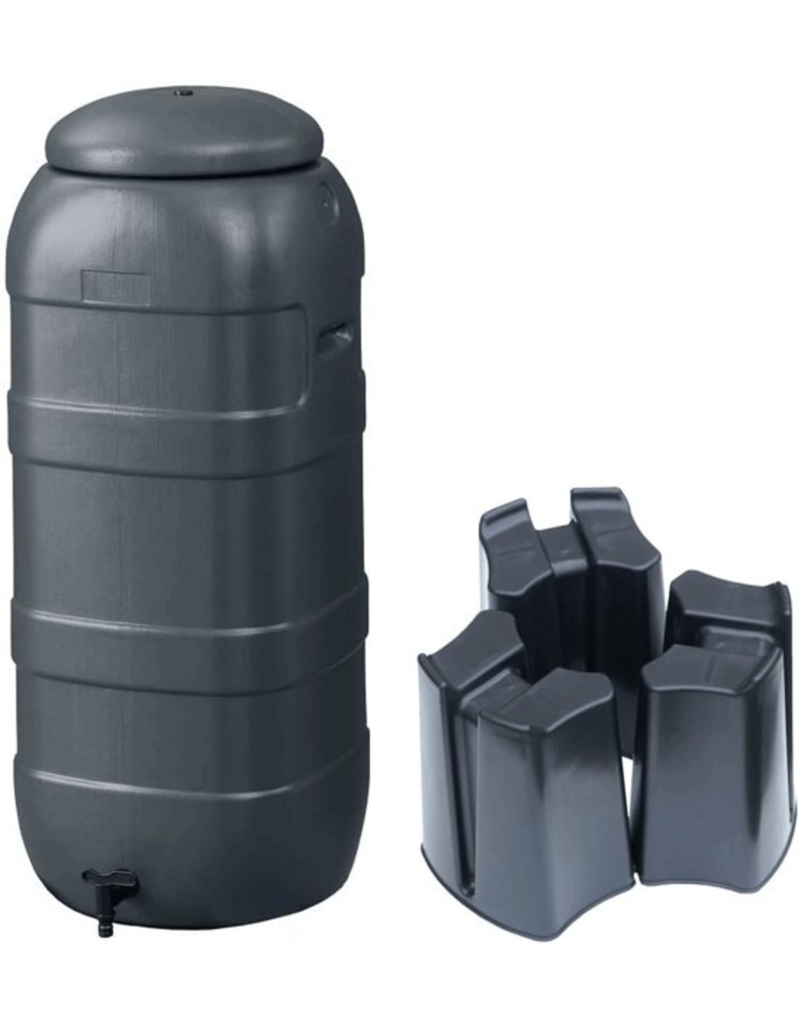 BeGreen Mini Rainsaver 100 liter grijs (Set)