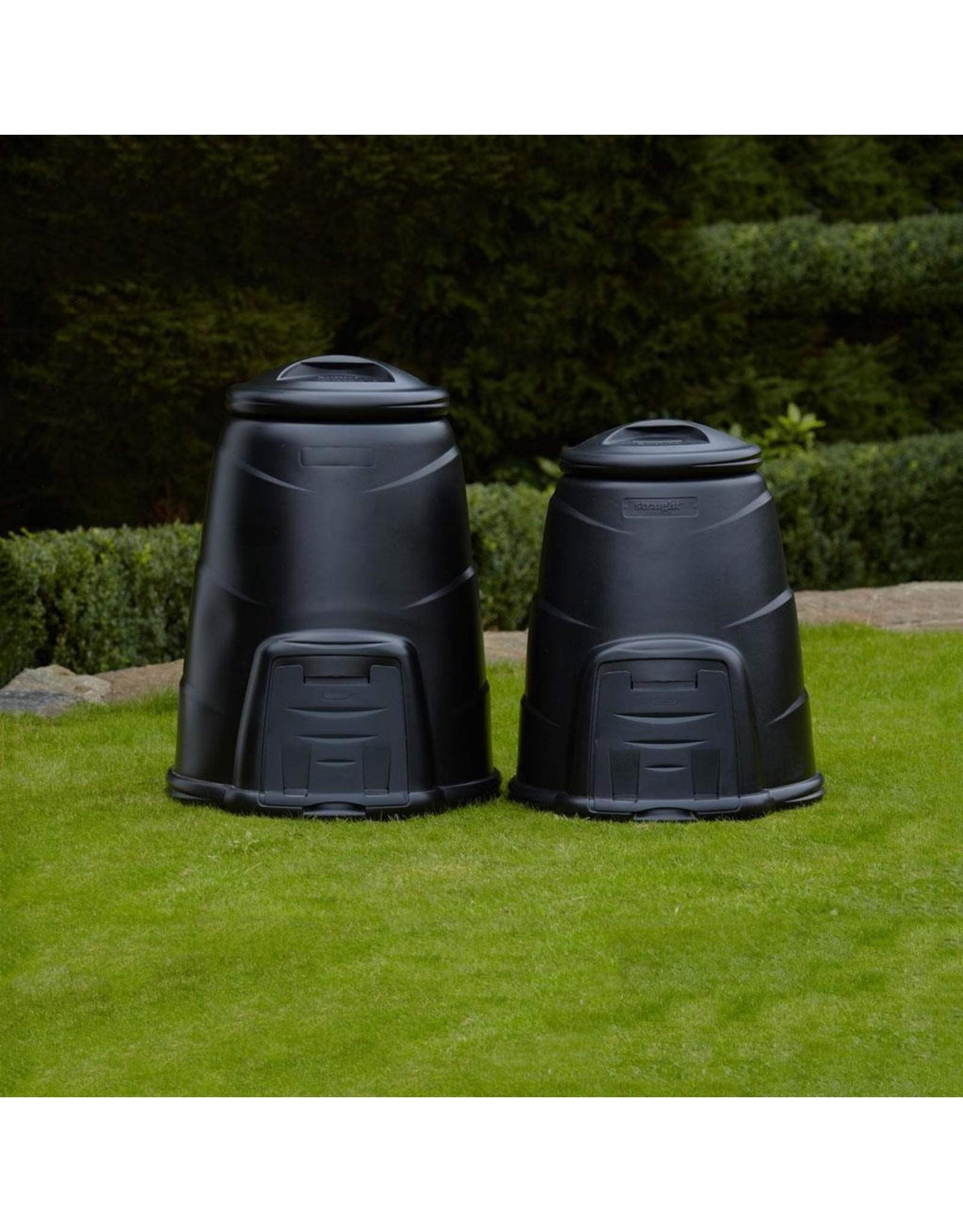 BeGreen zwarte composter 220 liter
