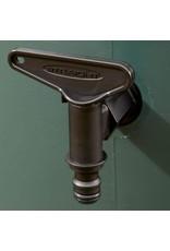 Standaard kraan - aftap kraan met Gardena klik