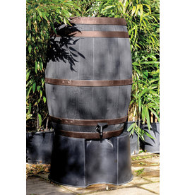 Regenton Oak Look bronzen band 235 Ltr