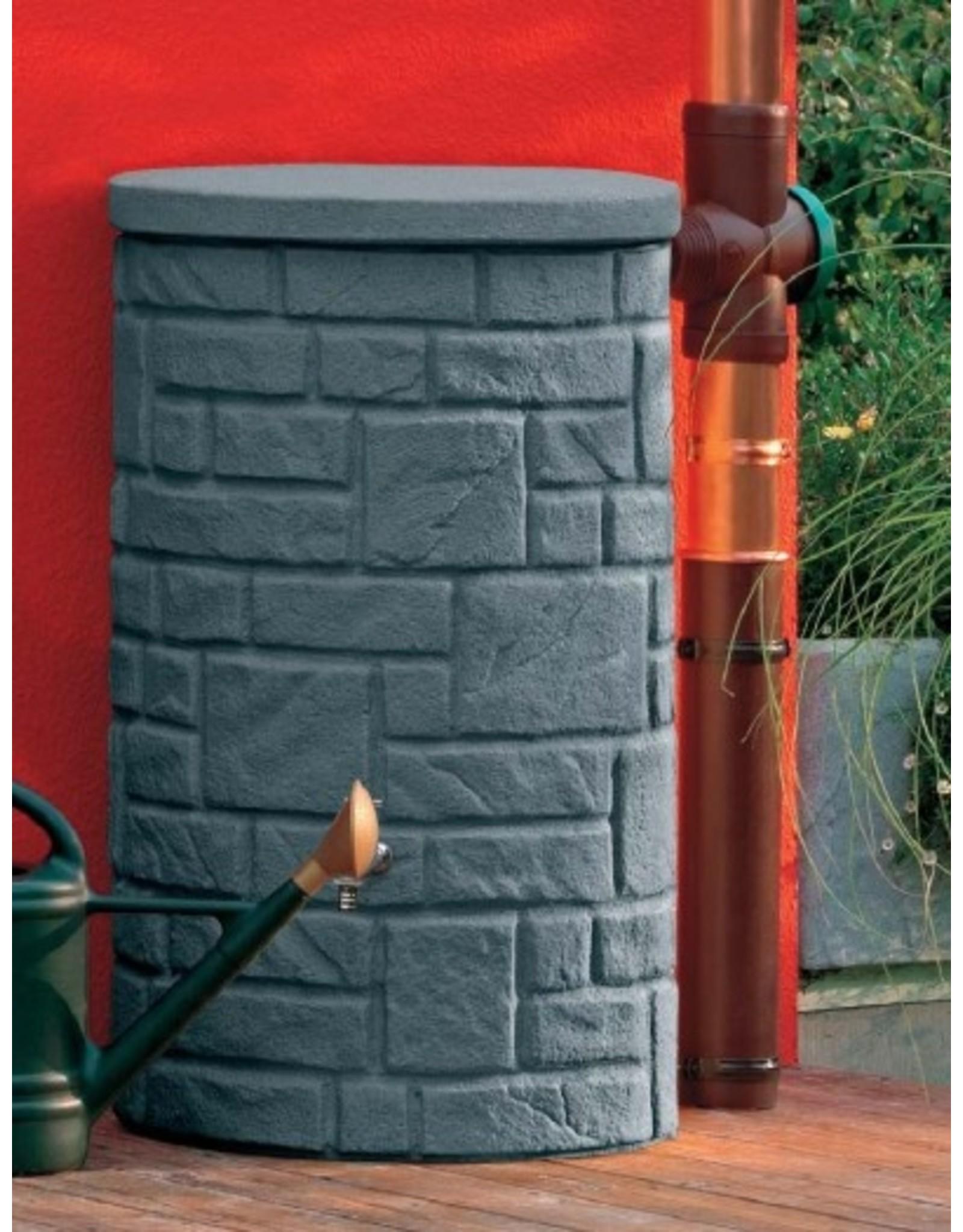Regenton Arcado 230L zwart graniet