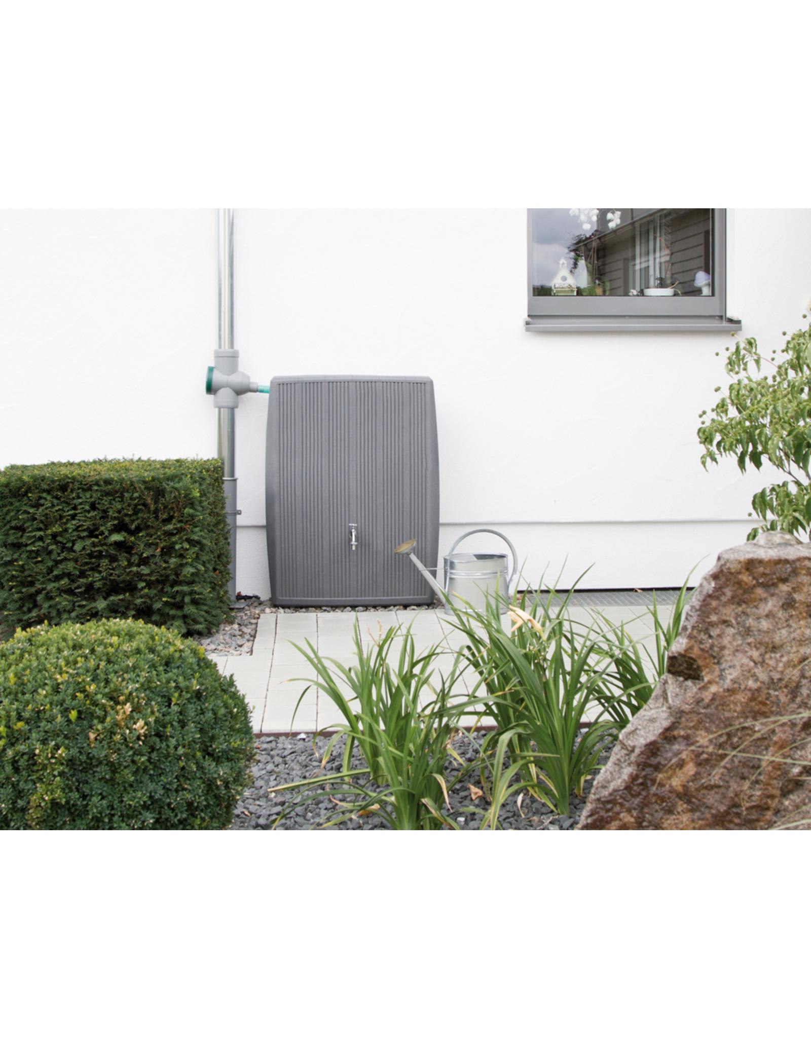 Regenton Concrete 200 L beton grijs