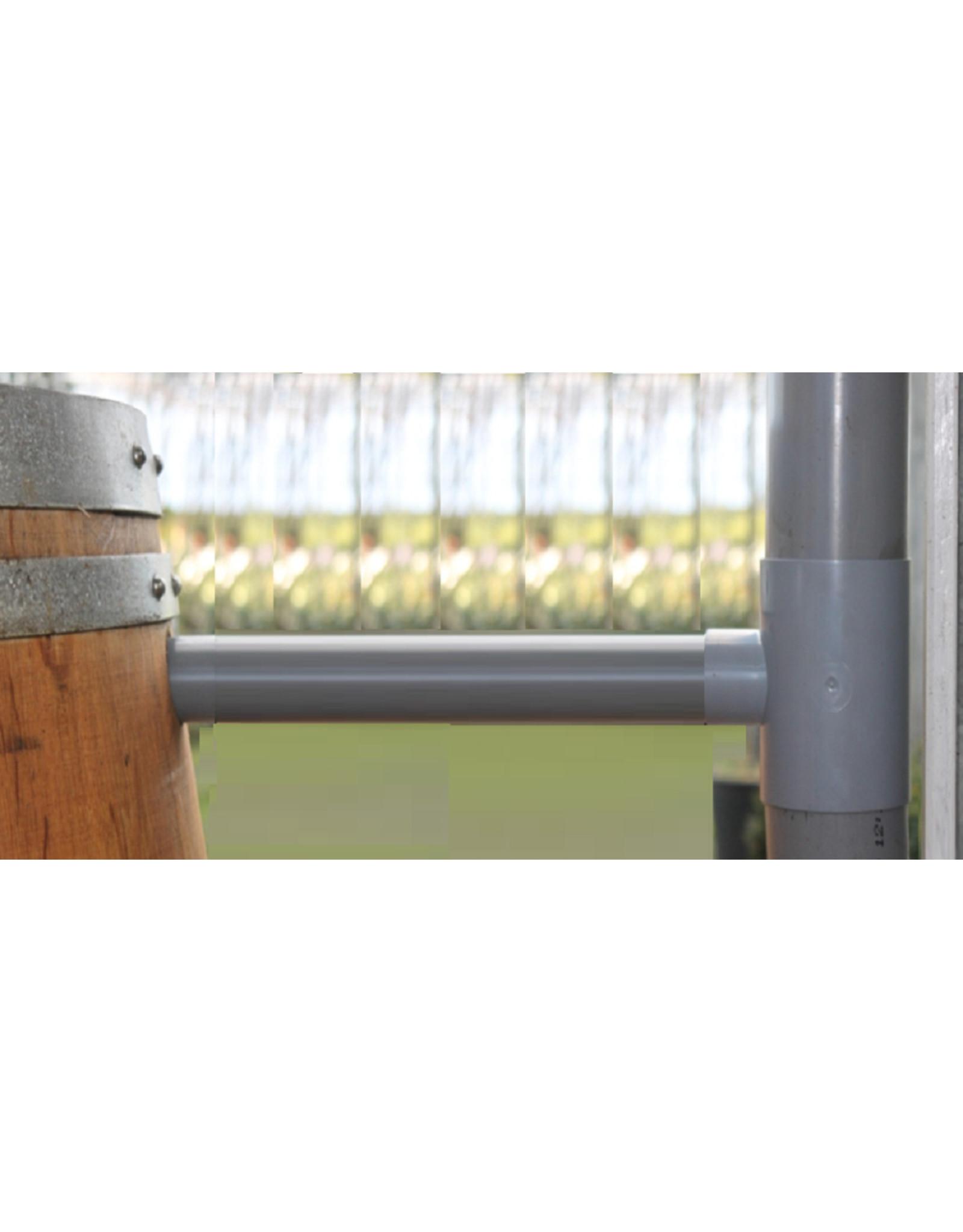 Regenton vulautomaat 70/80 mm + 50cm verlengbuis