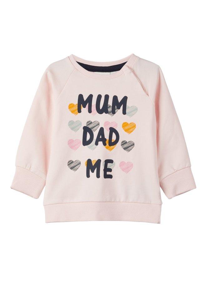 Name-It Roze Meisjes Sweater Kanoa