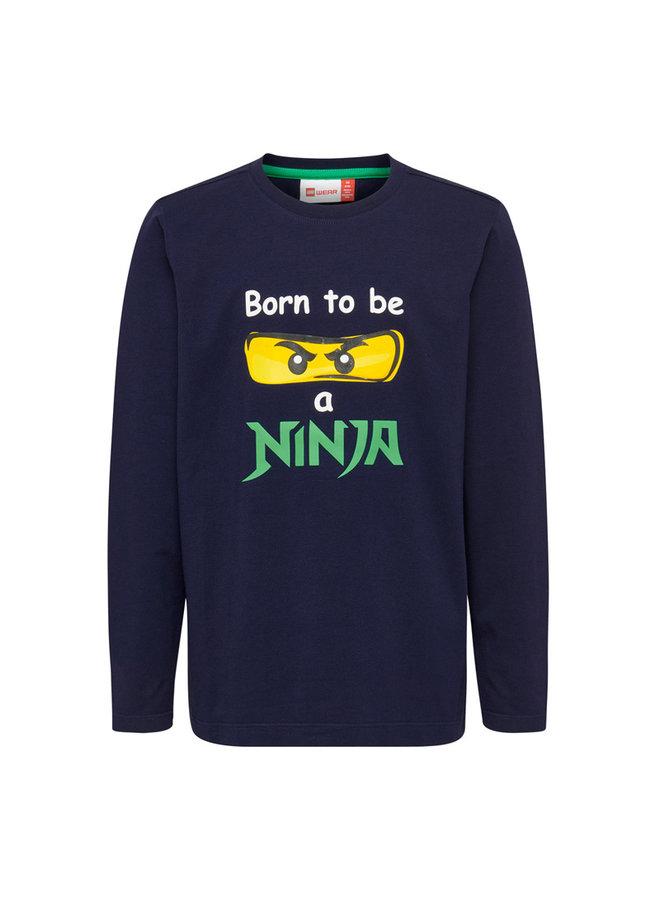 Legowear Jongens Tshirt Born To Be A Ninja