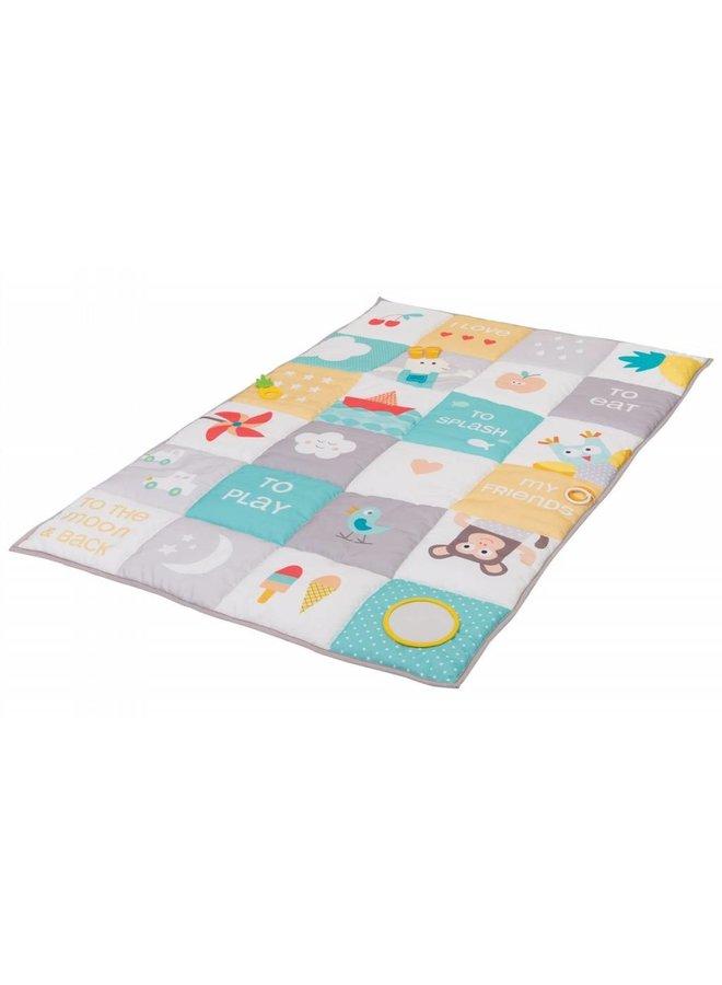Taf Toys Baby Speelmat I Love Big Mat Soft Colors