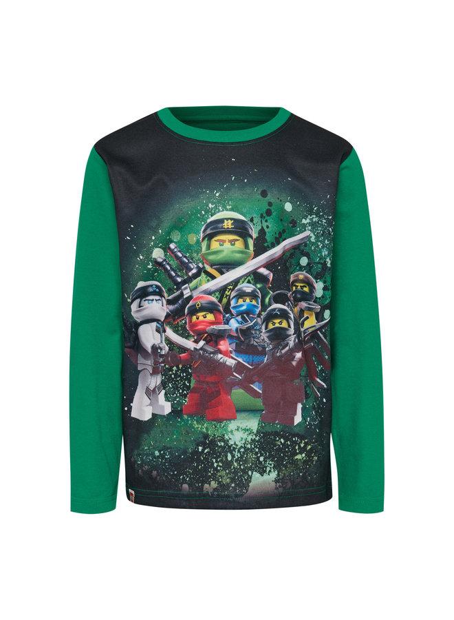 Legowear Groene Tshirt Lego Ninjago