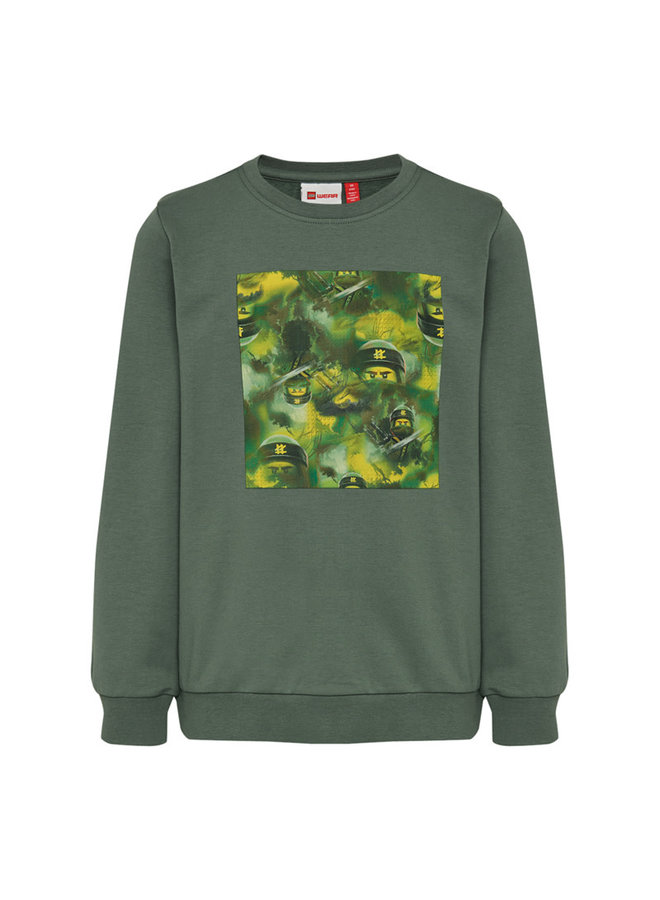 Legowear Groene Sweater Lego Ninjago