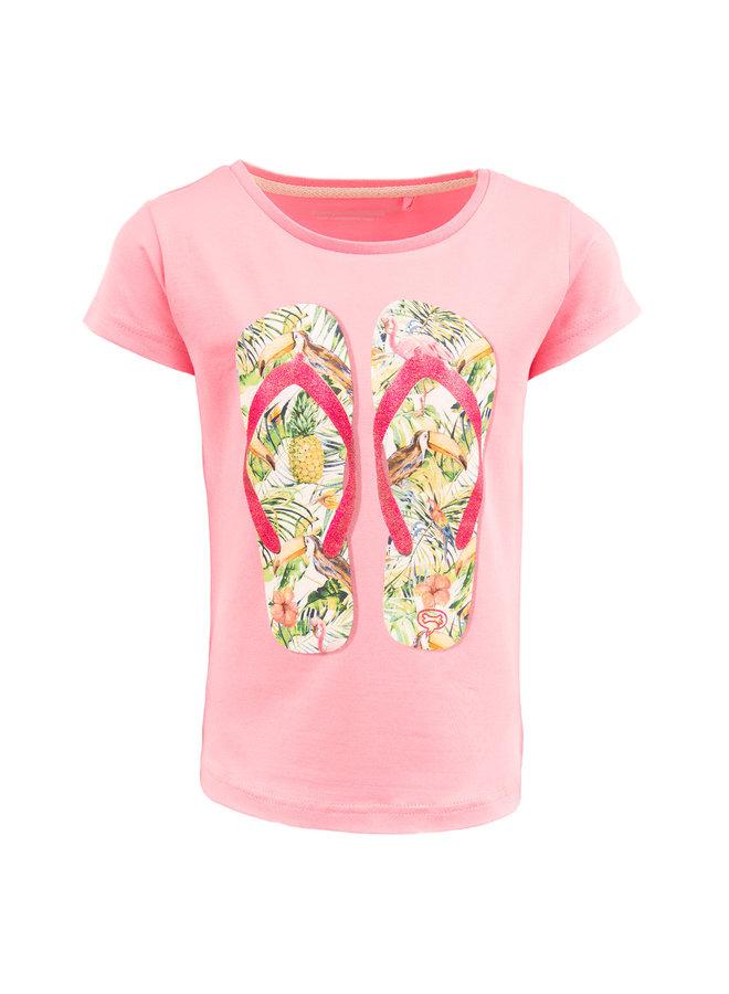 Stones And Bones Tshirt Camille Flipflops Pink